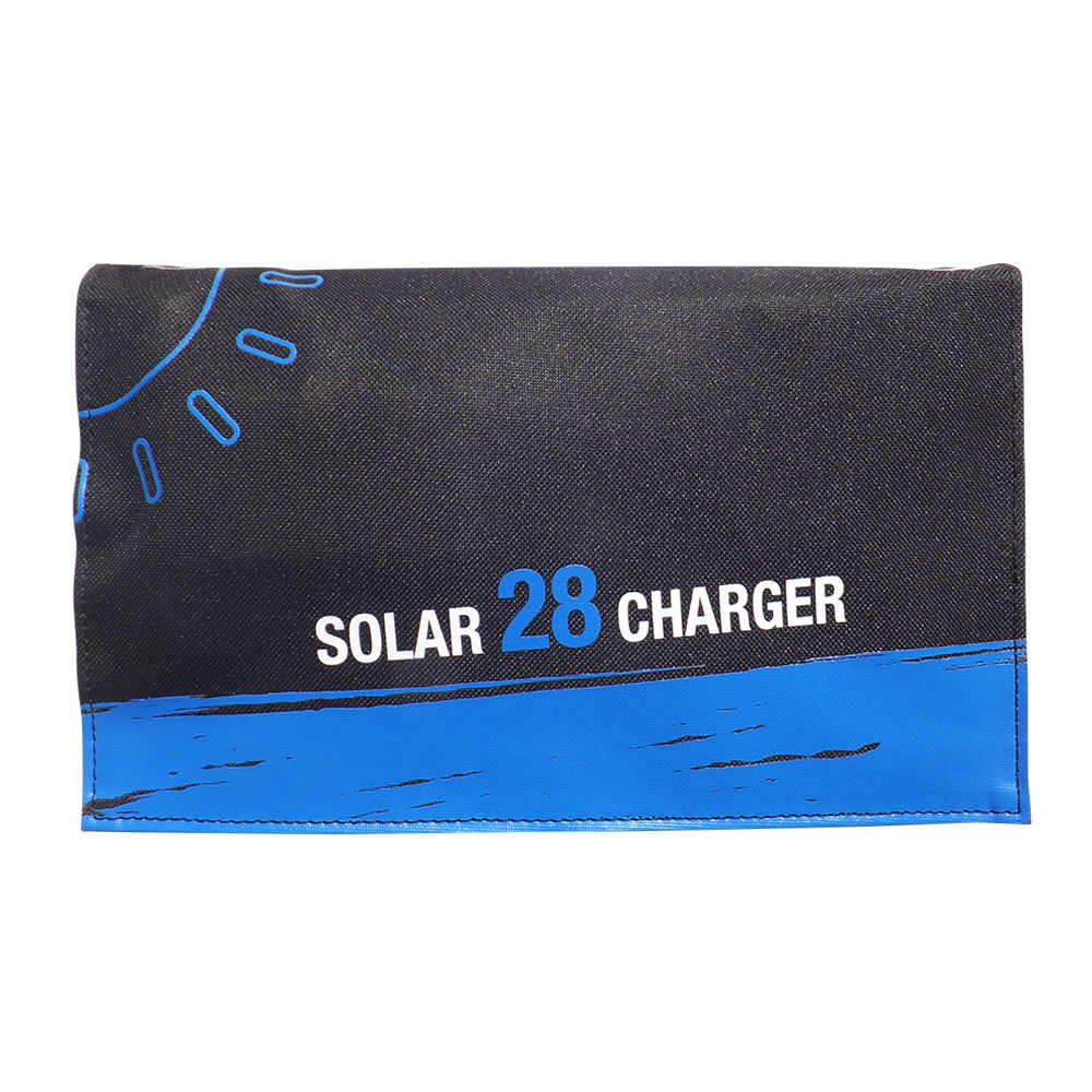 SunPower 28W Solar Cells Charger 5V 4.8A USB Output Devices Portable Solar Panels for Smartphones Laptop