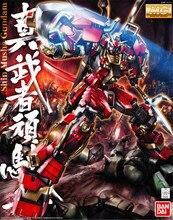 Bandai Gundam MG 1/100 שין מושאע נייד חליפת להרכיב דגם ערכות פעולה דמויות פלסטיק דגם צעצועים