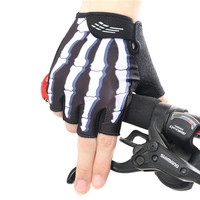 XINTOWN Outdoor 3D Gel Bicycle Gloves Summer Breathable Unisex Guantes Ciclismo Mountain Bike Half Finger Cycling Gloves