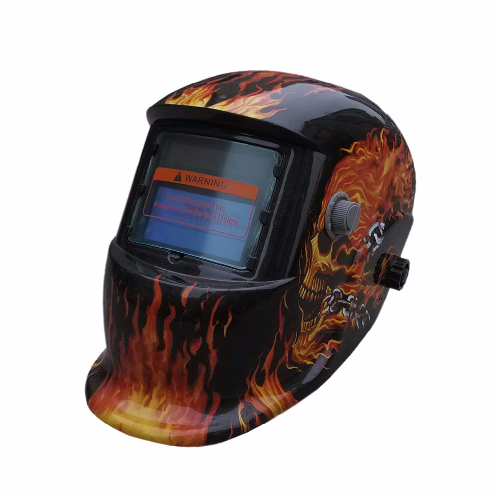 Big Sreen Welder Tool Auto Darkening TIG MIG ARC MMA MAG Electric Welding Mask Helmet Welder Equipment Cap KLTBK moski solar auto darkening mig mma electric welding mask helmet welder cap welding lens for welding machine