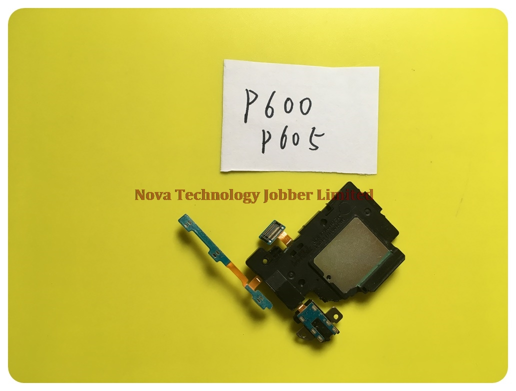 Wyieno P605 Loud Speaker Ribbon For Galaxy Note 10.1 P600 P601 Buzzer Ringer Flex Cable Power Volume Flex