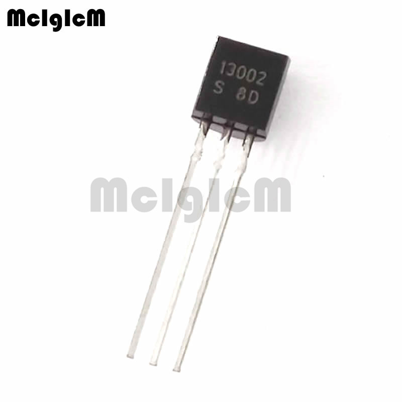 MCIGICM 5000pcs MJE13002 in line triode transistor TO 92 1 2A 400V NPN