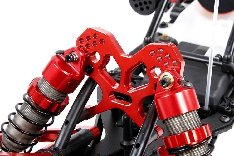 CNC Front Shock Absorber Bracket For 1/5 HPI Rovan KM BAJA 5B 5T 5SC Multiple Holes Adjustable Suspension Height RC Car Parts
