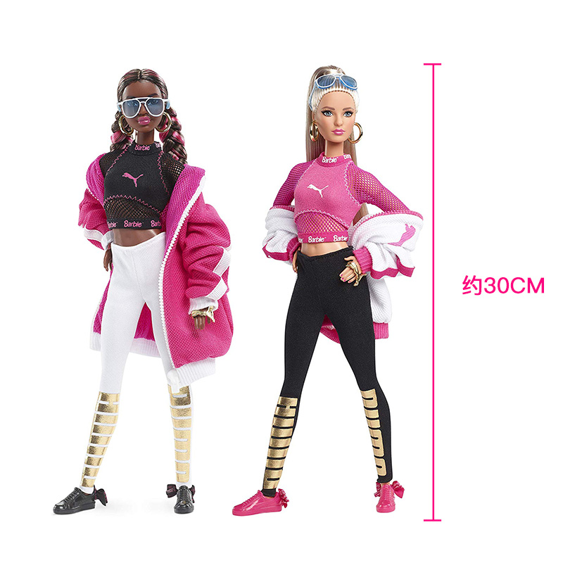 Genuine Barbie Puma Doll 18 Joints Articulated Collection for Girls Children's Toy Birthday Gifts Original Barbie Doll