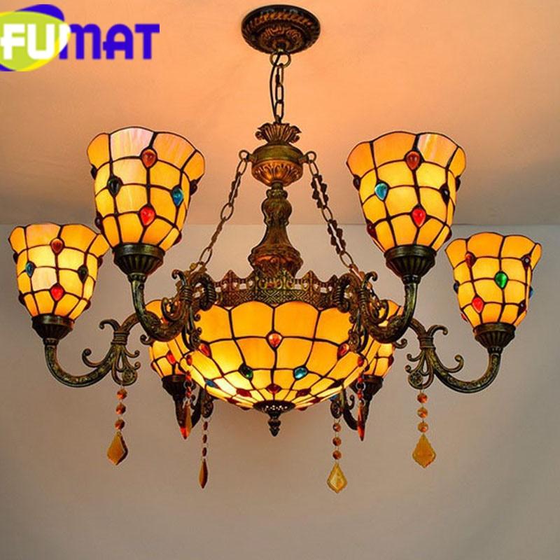 4 Phoenix Tiffany Pendant Lamp