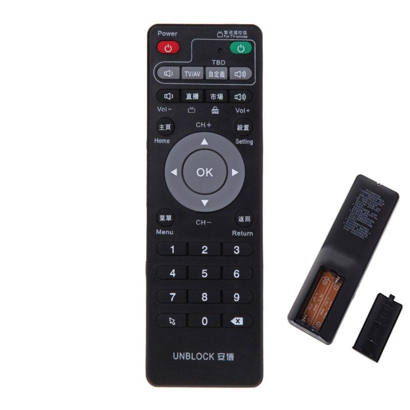 Universal Set-Top Box Lernen Fernbedienung Für Unblock Tech Ubox Smart TV Box Gen 1/2/ 3 lernen Kopie Infrarot IR
