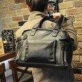 New style men travel bag fashion designer men handbags shoulder bags large capacity pu leather duffle bag 2017