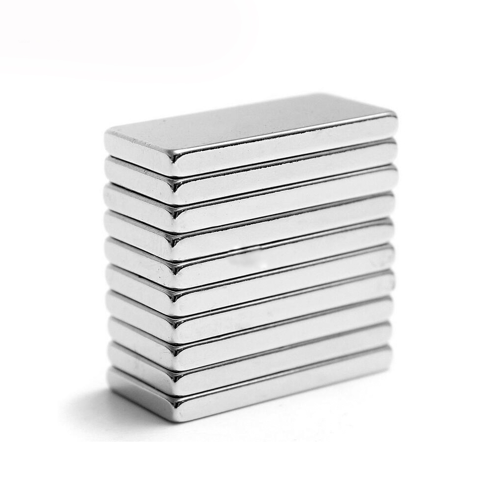 Hakkin 10pcs 20 x 10 x 2mm N35 Powerful Permanet Super Strong Magnet Rare Earth Neodymium Magnets hakkin 5pcs super strong neodymium magnet block cuboid rare earth magnets n35 20 x 10 x 2mm