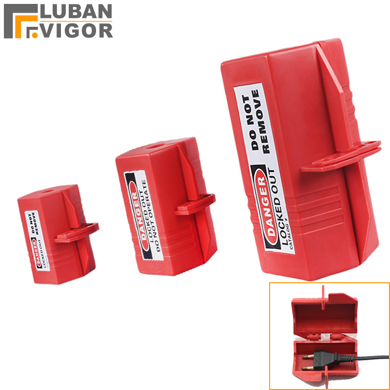 Plug lock box Household appliances power locks, industrial plugs safety /Limit /Child power-off lock