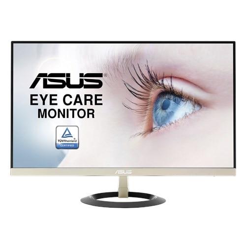 ASUS VZ249N moniteur de soin des yeux-23.8 pouces, Full HD, IPS, Ultra-mince, sans cadre, sans scintillement, filtre à lumière bleue