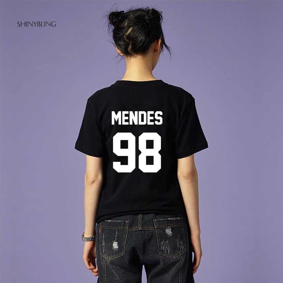 56d10de8a Black White Grey Pink Plus-Size-Fashion for Shawn Mendes 98 High Quality  Letter