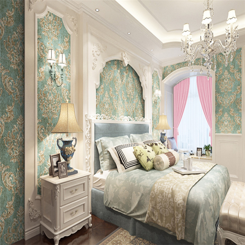 Custom Photo Wallpapers Texture Metallic Damask Wallpapers for Living Room Bedroom Walls Papers Home Decor Flowers Wall Mural damask wallpaper for walls 3d wall paper mural wallpapers silk for living room bedroom home improvement decorative