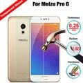 Vidrio templado para meizu pro 6 pro6 teléfono móvil de la alta calidad protector de pantalla protectora de cristal accesorios envío gratis
