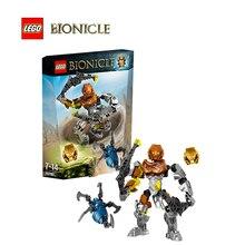 LEGO Бионикл Onua-Мастер земли Marvel Архитектура Строительные Блоки Модель Комплект Плиты Развивающие Игрушки Для Детей LEGC70789