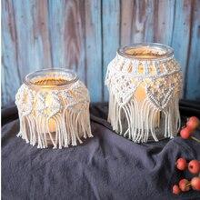Candle Light Holder Stylish Tea Round Hanging Glass Candlestick Romantic Home Wedding Decor