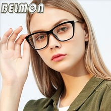 Belmon Spectacle Frame Women Eyeglasses Computer Prescription Optical For Female Vintage Eyewear Clear Lens Glasses Frame RS820