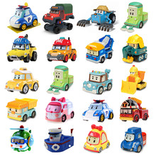 25 Style Robocar Poli Korea kids Toys Robot Poli Roy Haley Anime Metal Action Figure Toys Car For Children Best Gift(China)