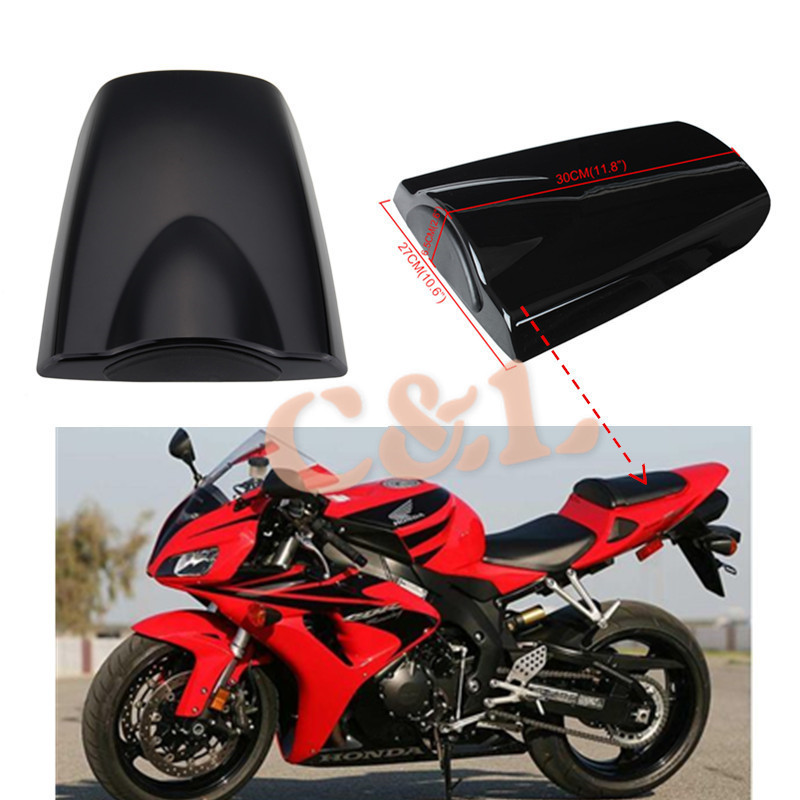 Us 28 82 7 Off Motorcycle Matte Black Passenger Rear Seat Cover Cowl Fit For Honda Cbr 600 Rr 2003 2006 Cbr600rr 2004 2005 In Covers Ornamental