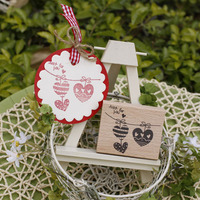 High Quality Just For You Love Desgin 5 6 2cm Carimbo For Wooden Scrapbooking Rubber Stamps