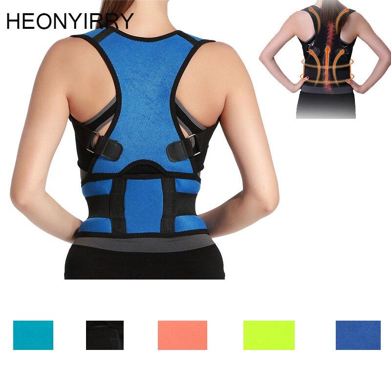 Adult Back Corset Posture Corrector Back Shoulder Lumbar Braces Spine Support Belt Posture Correction Back Support For Men Women