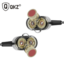 QKZ KD2 In Ear Hifi Earphone 3.5mm Jack Stereo Headset Mobile Fone de ouvido auriculares audifonos earphones gaming headset