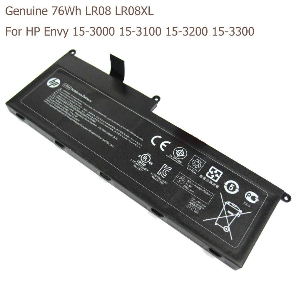 72Wh حقيقية محمول بطارية لجهاز HP الحسد 15-3000 15-3100 15-3200 15-3300 سلسلة LR08XL HSTNN-UB3H LR08 TPN-I104