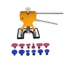 Dentเครื่องมือPaintless Dent Removal Dent Pullerแท็บDent Lifter Hand ToolชุดDentเครื่องมือFerramentas