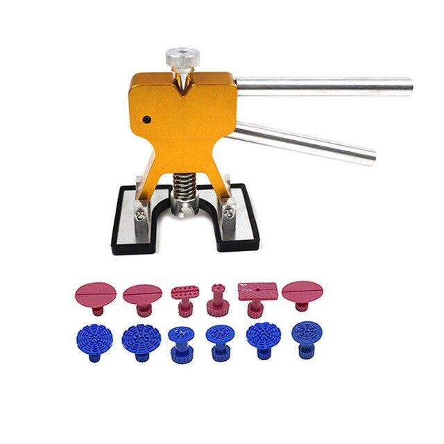 Dent Werkzeuge Ausbeulen ohne Reparatur Werkzeuge Dent Entfernung Dent Puller Tabs Dent Lifter Hand Tool Set Dent Toolkit Ferramentas