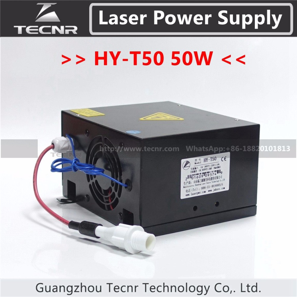 50W CO2  laser power supply for  30W 40W  laser tube high voltage flyback transformer for co2 50w laser power supply
