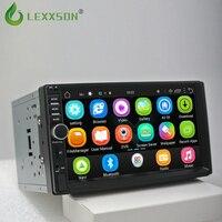 2 din android 6,0 авто радио с gps навигации двойной din мультимедийный плеер 7 дюймов 1024*600 Бесплатная камера Поддержка dab 7021 г
