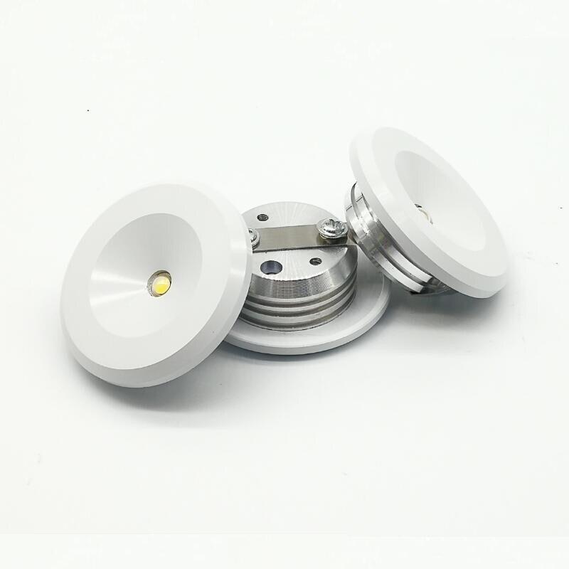 Mini led cabinet light  3W mini downlight 10pcs/lot AC85-265V lamp white or Warm RoHS CE