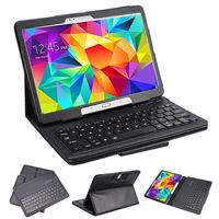 Wireless Bluetooth Keyboard Case PU Leather Cover Protective Smart Case For Samsung Galaxy Tab 4 10.1 T530 T531 T535 Funda Capa