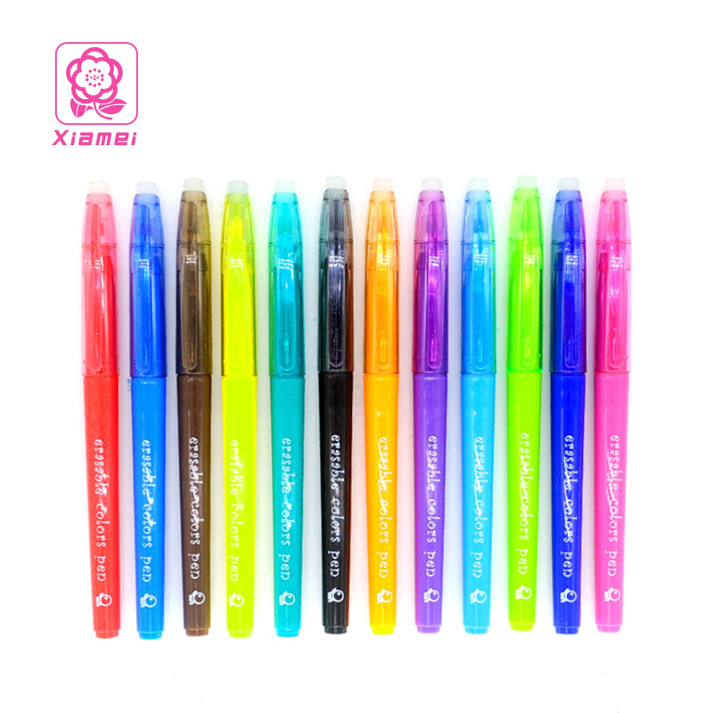 Xiamei Stationery Store Erasable Art Markers 12 Colors Children Drawing Watercolor Pen Safe Non-toxic Health and Environmental