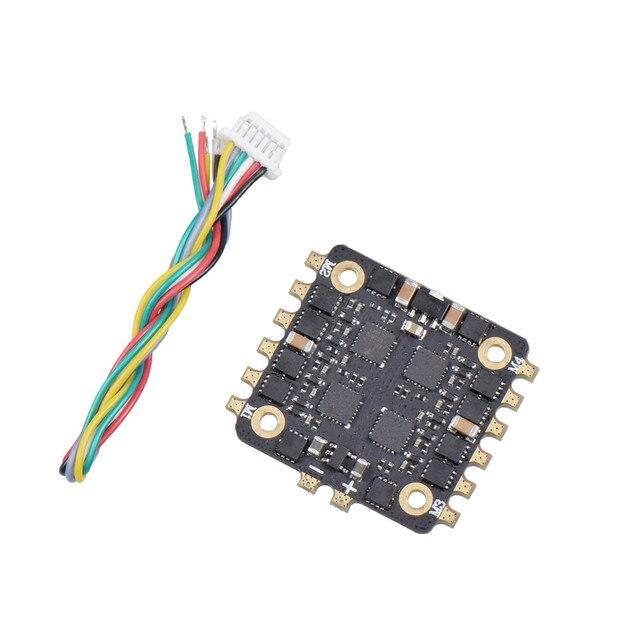 20x20mm JHEMCU EM15A 15A BLheli_S 2-4 S 4in1 DShot600 bezszczotkowy ESC dla RC Drone FPV wyścigi