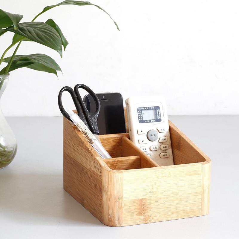 Japonijos stiliaus bambuko saugojimo dėžutės lentelės - Organizavimas ir saugojimas namuose - Nuotrauka 5