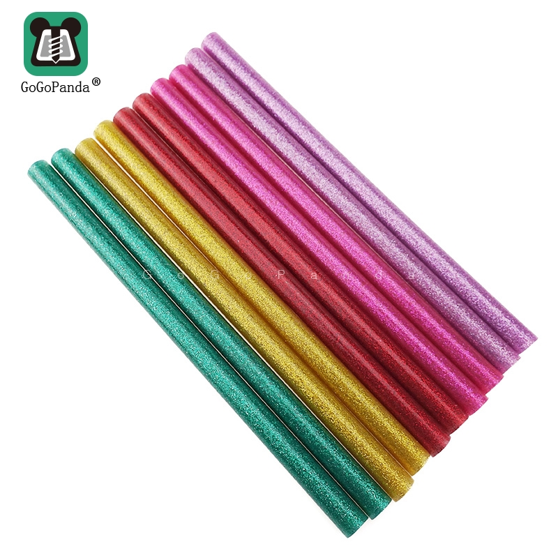 Free Shipping 5PCS 11mm X200mm Hot Melt Glue Sticks For DIY Craft Phone Case Alloy Toy Art Model Album Repair Adhesive Stick