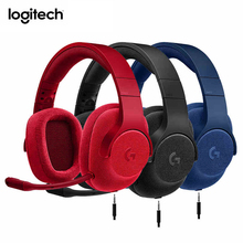 Original Logitech G433 Wired 7.1 Surround Sound Gaming Headset With Mic For FPS PUBG Headphones For Laptop PS4 Xbox One PC