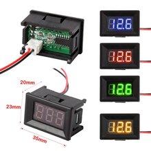 Voltmeter Ammeter Blue Red LED Amp Dual Digital Volt Meter Gauge Digital Voltmeter Ammeter Voltimetro Amperimetro