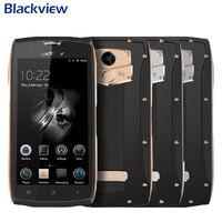 Оригинальный Blackview BV7000 сотовый телефон IP68 Водонепроницаемый Оперативная память 2 Гб Встроенная память 16 Гб MTK6737T 4 ядра 5,0 дюймов отпечатков п