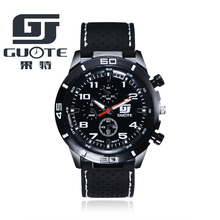 2017 New GUOTE Brand Men Sports Racing Quartz Watch Men Silicone Strap Military Wrist Watches Relogio Masculino Clock Hot Sale все цены