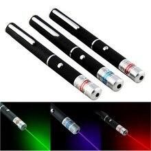 цены на Powerful Laser Pointer 5MW laser Green Purple Red Dot Laser Light Pen Funny Laser Toy For Cats Dogs Meter 405nm 532nm 650nm  в интернет-магазинах