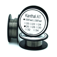 Cantal 26 Gauge 100 FT 0.4mm Nichrome wire Resistance Resistor AWG 50m long awg24 0 5mm nichrome resistance resistor wire for frigidaire heater