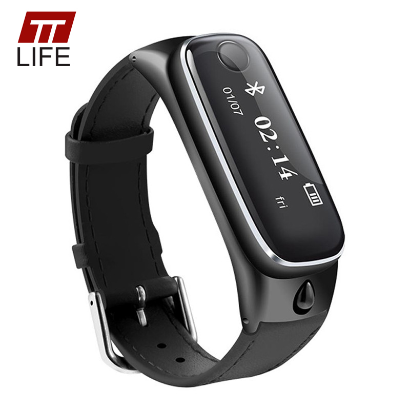 TTLIFE Men Women Smart Bracelet Heart Rate Sleep Monitor Sports Wristband Call Reminder Bluetooth Smart Watch M6 IOS Android elephone w1 bluetooth v3 0 0 49 oled smart bracelet watch w call reminder stopwatch rose gold