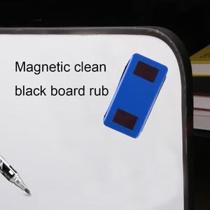 VODOOL المغناطيسي الفانيلا السبورة ممحاة مكتب المدرسة ماركر البلاستيك الأبيض مجلس نظافة ممحاة يمسح طالب القرطاسية امدادات