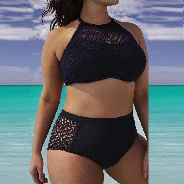 Hot!! High Waist Beach Bra Bikini Set 1