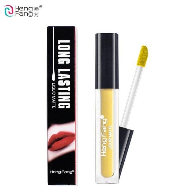 Hengfang Brand Liquid Matte Lipstick Metallic Lasting Lip Gloss