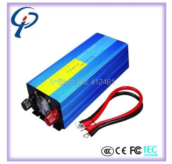 HOT! Off Grid Inverter 2000W DC to AC Pure Sine Wave Inverter Inversor PORT.Solar PV Inverter, Wind Inverter
