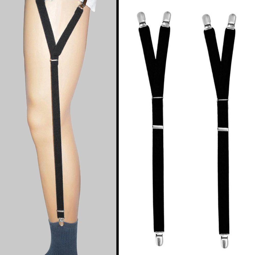 600x20mm Sexy Leg Black Belt Women Men Flexible Body Hollow Leg Belt Suspender Strap Underwear Leg Belts Superior Performance Men's Accessories Men's Suspenders