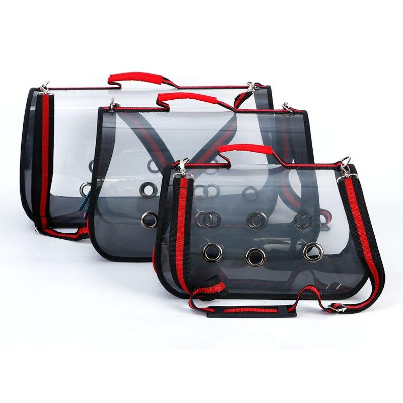 Новое поступление собака сумка прозрачный Дизайн дышащий щенок открытый одного плеча размеры S, M, l Размеры сумка товары для животных