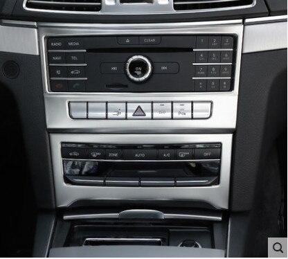 Pour Benz Classe E Coupé W207 C207 Intérieure Center Console CD Panneau Couverture 2014-2016